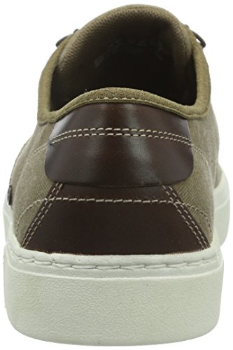 Timberland Amherst_Amherst Oxford, Baskets Basses Homme Marron - Marron/turquoise