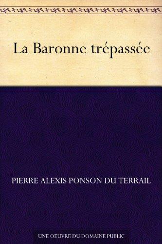 Couverture du livre La Baronne trépassée