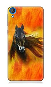 HTC Desire 820 3Dimensional High Quality Designer Back Cover by 7C