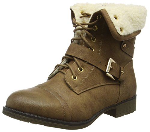 Joe Browns Damen My Favourite Kurzschaft Stiefel Brown (A-Tan)