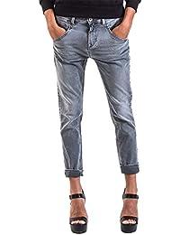 Meltin'Pot - Jeans LEIA D0130-CH429 pour femme, style slim, taille loose, taille basse