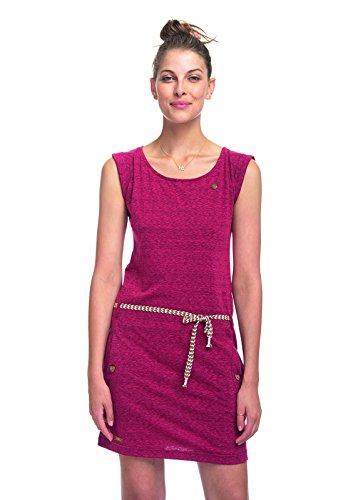 Ragwear Damen Jerseykleid RaspberryRaspberry