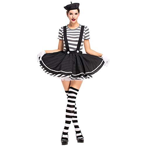 (Bmeigo Damen Halloween Kostüme Cosplay Fancy Kleider Hexe Oktoberfest Bavarian Performance Party Kleidung)