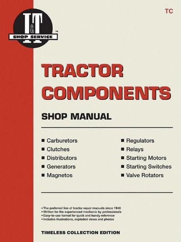 Tractor Components Shop Manual -