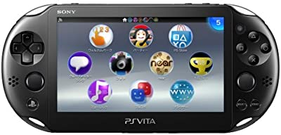 PS Vita Slim - Black - Wi-fi (PCH-2000 ZA11)