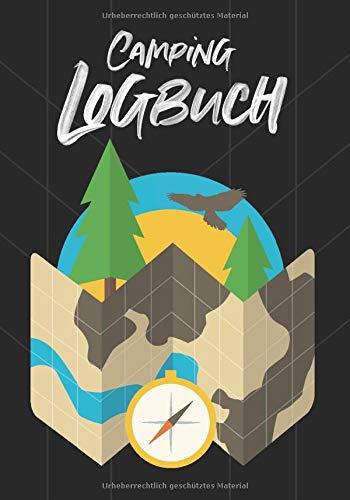 Camping Logbuch - Reisetagebuch für Camper: Wohnmobil Reise Buch Wohnwagen Journal Caravan Urlaub Notizbuch