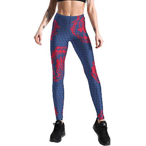 Frauen Mädchen Stretchy Pilates Workout Sport Yoga Leggings Power Flex Active 4XL (Mädchen Active Outfits)