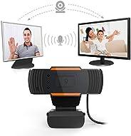 Amaae® LED Computer PC Laptop 12MP USB2.0 Webcam 720P HD Camera with Microphone Full HD Webcam USB Desktop &am