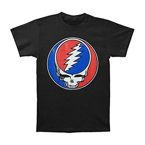 AkhyT Bluestar Grateful Dead Steal Your FACE MENSTEE (XL) Black (Grateful Dead T-shirt Soft)