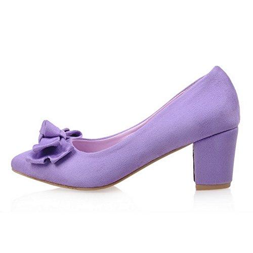 BalaMasa - Sandali con Zeppa donna Purple
