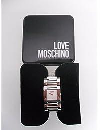 Moschino MW0357 - Reloj para mujeres, correa de acero