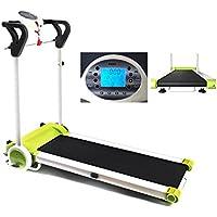 MAXOfit® Laufband Greenline MF 7 Sportgerät | bis 12 km/h | Platzsparend Klappbar | Mit Leisem Elektromotor | Digitalanzeige | Für Zuhause - preisvergleich