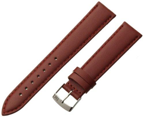 Morellato cinturino in pelle uomo TWINGO nero 18 mm A01U1877875141CR18