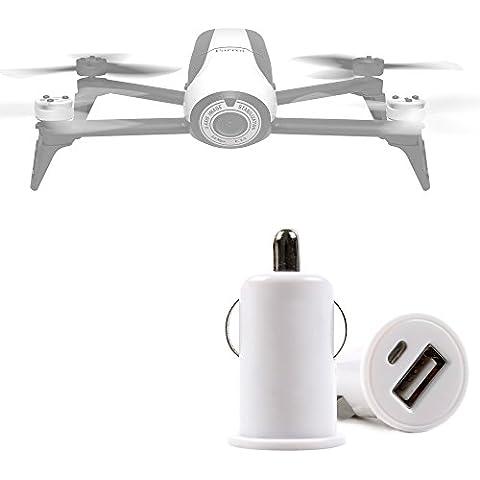 DURAGADGET Cargador De Mechero Del Coche Con Puerto USB Para Dron Archos Drone / Hubsan X4 FPV (H107D) - ¡No Se Quede Sin Batería Mientras