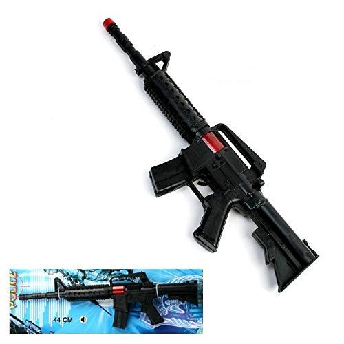 Les Colis Noirs LCN - Fusil Bruiteur et Etincelle en Plastique 44cm - Jeu Jouet Cadeau Déguisement - 176