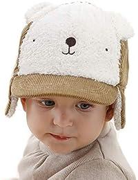Gifts Treat Chapeau d hiver pour Garçons, Des Gamins Ours en Peluche Mignon  Casquette b47b9f20269