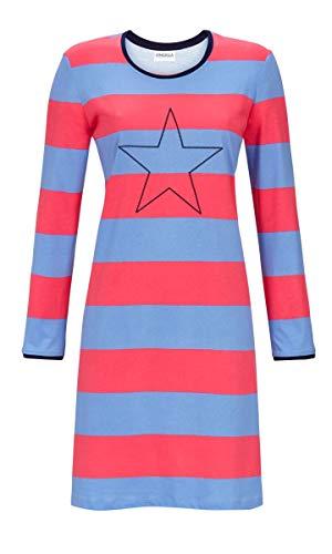 Ringella Damen Nachthemd mit Blockringel Pool 42 9511005, Pool, 42