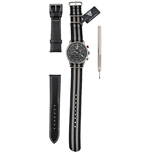 Junkers Men's Chronograph Watch with 6J863with Leather Strap
