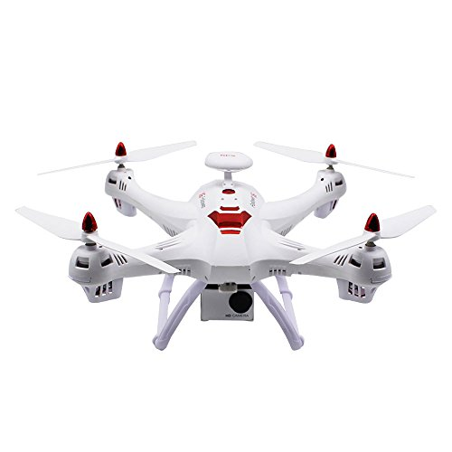ZZH Droni con fotocamera 1080P, GPS Smart Tracking Around 5G Mappa Fotografia aerea WiFi FPV GPS Stabile Gimbal Selfie Quadcopter Drones per bambini Adulti Beginners_Black