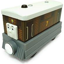 Mattel Fisher-Price Y4081 - Thomas y sus amigos, locomotora Toby (madera, tamaño pequeño)