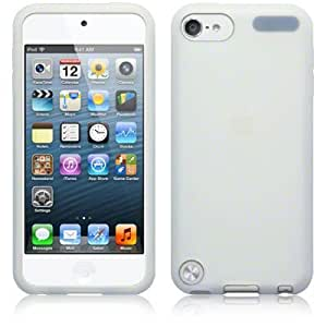 iPod Touch 5 Case, The Keep Talking Shop® Clear Silicone Skin Gel Case Cover Jacket Protector