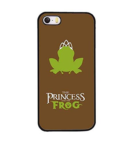 the Princess and the Frog Durable Non Slip Custom Hard Custodia Hard shell per Iphone 5s 5 Fddom178