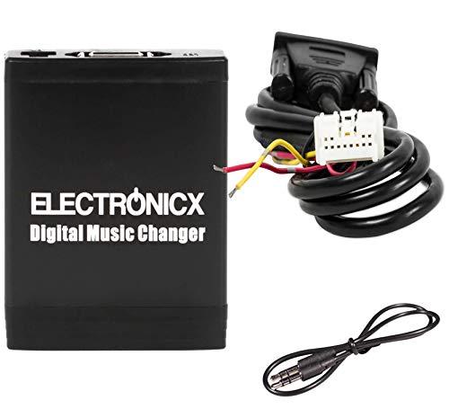 Electronicx Elec-M06-NIS Digitaler Autoradio Musik CD-Wechsler USB, MP3, AUX,SD Adapter Radio Stereosystem Originalradio