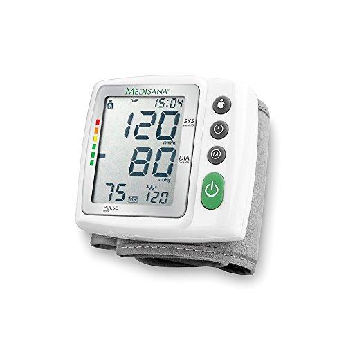 Medisana BW 315 Handgelenk-Blutdruckmessgerät mit Arrhythmie-Anzeige, WHO-Ampel-Farbskala - für eine präzise Blutdruckmessung und Pulsmessung mit Speicherfunktion - 51072