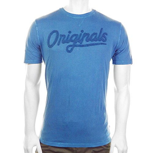 JACK & JONES Herren T-Shirt Jorcrescent Tee Ss Crew Neck Blau (Ensign Blue Fit:Slim)