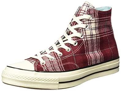Converse Unisex's Dark Burgundy/Cyan Tint/Egret Sneakers-10 UK/India (44 EU) (8907788145546)