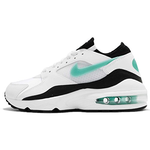 Nike Zapatillas Air Max 93 White-Turq-Bl 38 Blanco