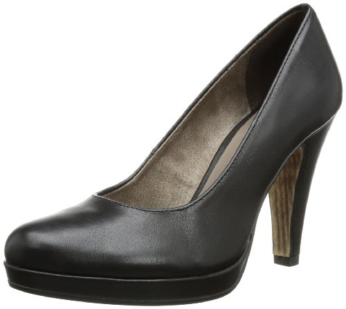 Tamaris 1-1-22426-22 018, Escarpins femme Noir (Black Matt)
