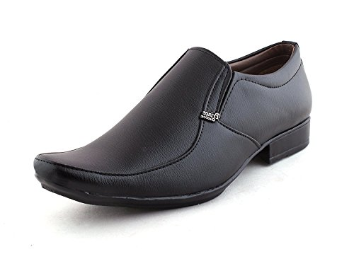 Alestino Formal Shoes For Mens Leather Formal Shoes FT37 (41 UK)BLACK image - Kerala Online Shopping