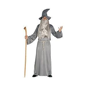 Guirca- Disfraz adulto mago, Talla 52-54 (84466.0) 12
