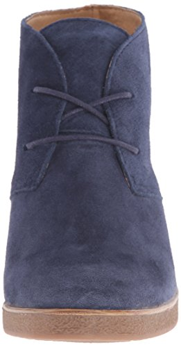 Wedge Chukka Chaussons Bottes Lucky Brand Jeans Junes femme Bleu brillant