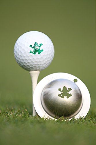 TIN CUP. GOLF BALL MARKER SYSTEM. RIP IT.