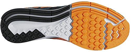 NikeAir Zoom Elite 8 - Sneaker Uomo nero - Nero/Arancione