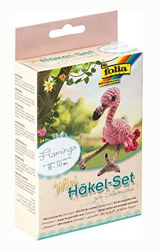 MAX Bringmann KG 23914 Flamingo - Juego de ganchillos