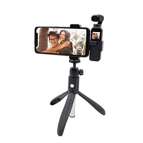 VICKY-HOHO Pocket Handheld Gimbal StabilizerSelfie Stick Stativhalterung Handyhalter für DJI OSMO (schwarz)