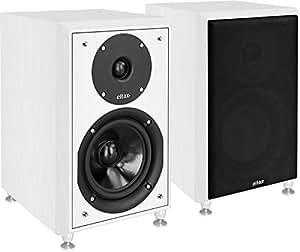 Eltax Enceintes compactes Monitor III Blanc