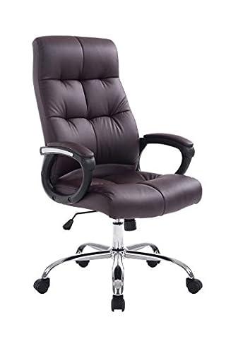 Chaise de bureau Poseidon Marron