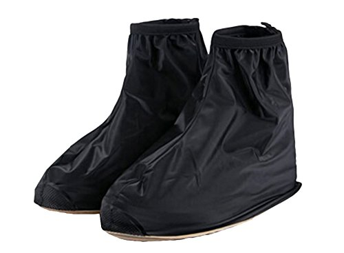 *Top *Picks Beauty Anti-Rutsch-Men's, wiederverwendbar, Wasserfest Regen-Überschuh Boot, Schuh, Schuhe, GETRIEBE (Overshoe Boots)