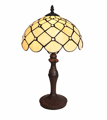 Tiffany Leuchte Lampe Jugendstil Perlmutt 46cm Kingschair