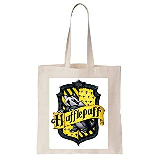 Hufflepuff Shield Animal Harry Potter Schultertasche Tote Bag