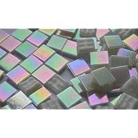 Mini Mosaik Gr/ünmix 8x8mm ca 50g. 100 St