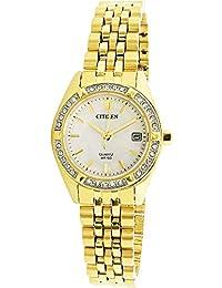 Citizen Analog Mother Of Pearl Dial Women's Watch-EU6062-50D