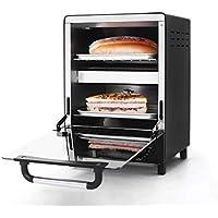 MLXKX Horno eléctrico, Mini Horno Vertical Japanese Design Home Baking Barbecue Egg Tart Pizza Mini