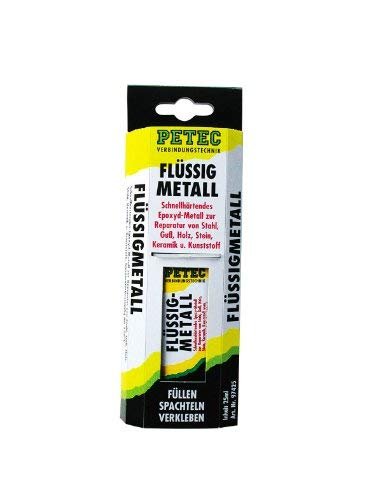 Petec Flüssigmetal Metallspachtel Spachtelmasse 25ml