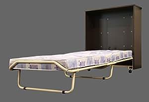 veraflex pisolo schrankbett convertible en lit pliant avec matelas env 80 x 190 cm. Black Bedroom Furniture Sets. Home Design Ideas