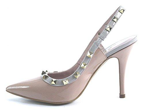 Lodi, Scarpe col tacco donna Beige beige Beige (rosa)